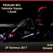 PROKART/BPC 2017 Takımlar Kupası 1. Ayak !