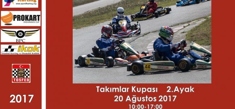PROKART 2. Ayak 20 Ağustos Pazar günü Autodrom'da !
